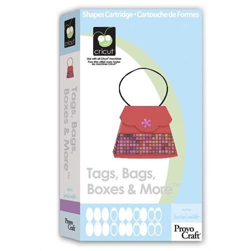 ÉTIQUETTES - de sacs boîtes et plus - Cricut cartouche - ÉTIQUETTES Version originale - Rare mais nouvelle / 0ac275