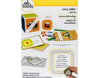 CURVY CUTTERs by EK TOOLs  -  Great New Item !  Cut out windows for cards etc.. Crafting and Cardmaking