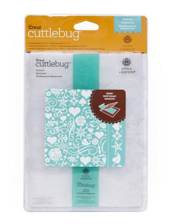 "Cricut Cuttlebug Anna Griffin CLIMBING ROSE 5/"" X 7/"" with 1/"" X 7/"" Border RARE"
