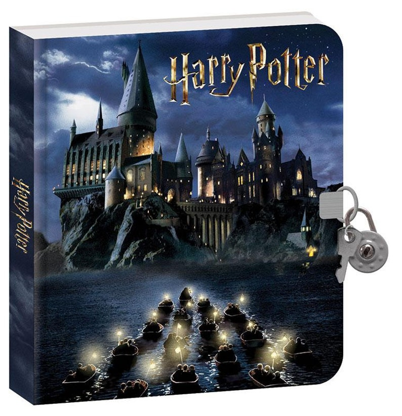 HARRY POTTER DIARY   HOGWARTs at NiGHT   with image 0