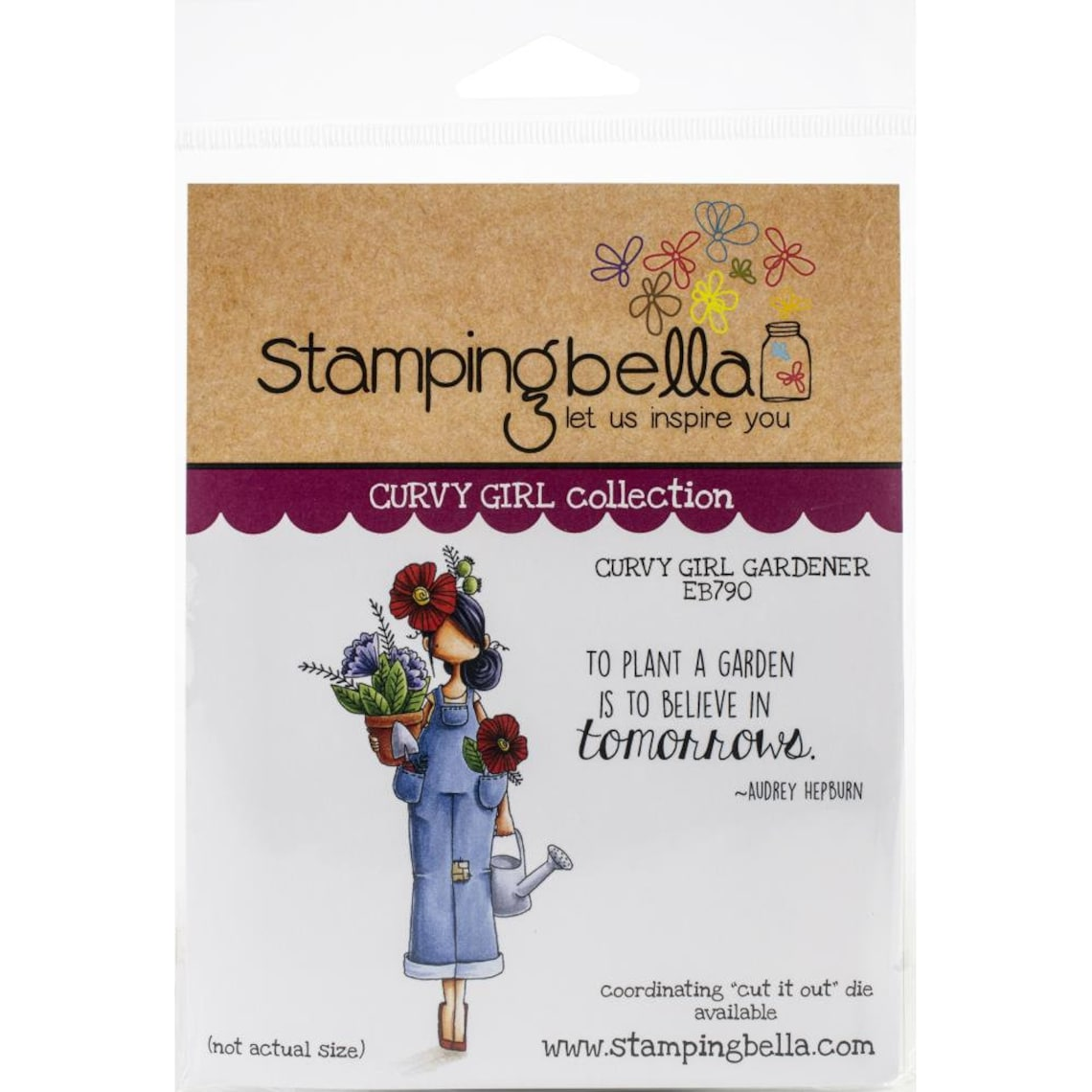 CURVY GIRL GARDENER   Set by STAMPiNG BeLLA   All New   2 image 0
