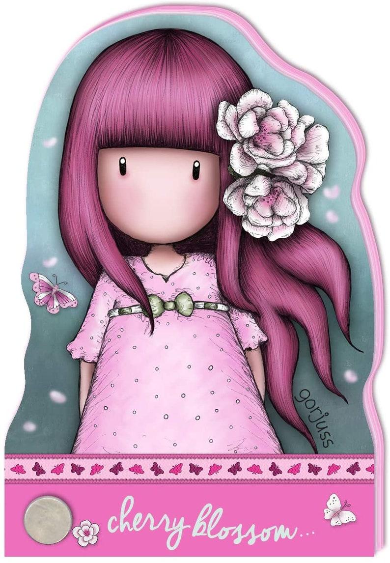 Sparkle /& Bloom SANTORO of London Gorjuss Girls New !! Choice of 4 Designs GORJUSS GIRL NOTEBOOKs