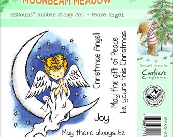 PEACE ANGEL by MOONBEAM MEADOWs - Lovely angel and sentiments  - Rare !!  Christmas