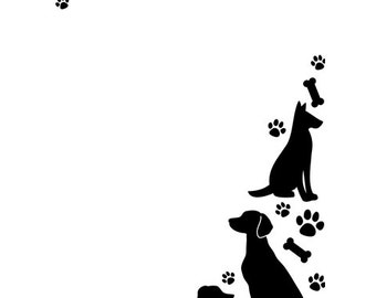 DOGS & PUPPIES  EMBOSsING FoLDeR - A2 by Darice - NeW in pkg