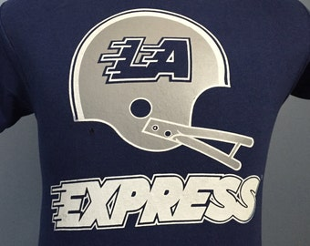 80s Vintage USFL L.A. Express Los Angeles NFL football T-Shirt - SMALL 9c29fbad6