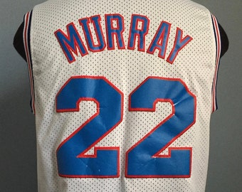 90s Vintage Bill Murray  22 Space Jam 1996 Tune Squad movie basketball  Champion Jersey Shirt - LARGE 778fc48f21