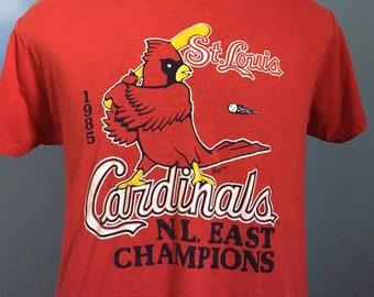 """/""""RUN STL/"""" T-Shirt Size S-4XL st louis missouri blues gloria cup champs champions"""