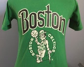80s Vintage Boston Celtics nba basketball T-Shirt - SMALL