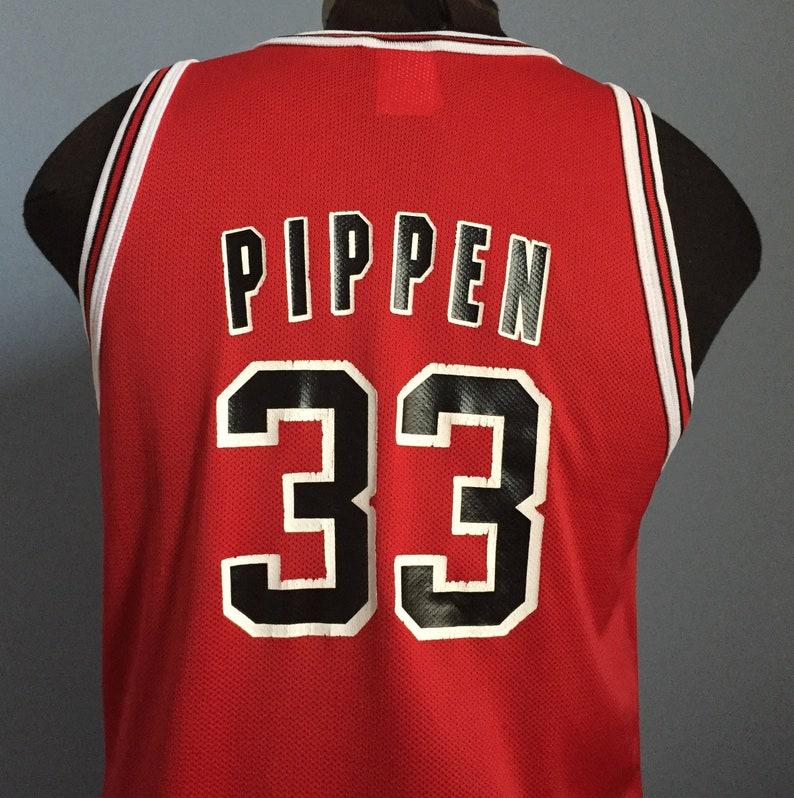 536d3ac38 90s Vintage Scottie Pippen 33 Chicago Bulls nba basketball | Etsy