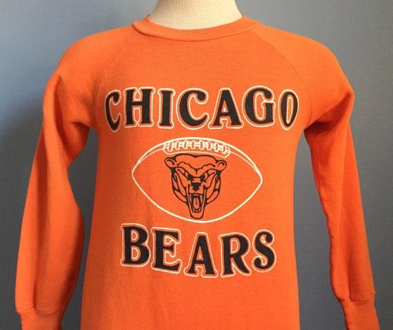 636f52e4 80s Vintage Chicago Bears nfl football Sweatshirt - SMALL