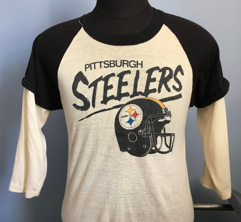 80s Tops, Shirts, T-shirts, Blouse   90s T-shirts 80S Vintage Pittsburgh Steelers Nfl Football T-Shirt - Medium $36.50 AT vintagedancer.com