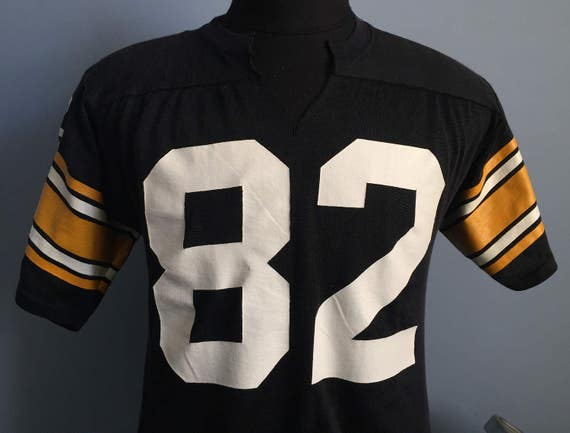 5d32e2c0f 70s 80s Vintage Pittsburgh Steelers John Stallworth  82 nfl football Jersey  T-Shirt - LARGE