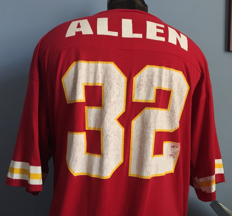 90s Vintage Marcus Allen 32 Kansas City Chiefs nfl football | Etsy  free shipping