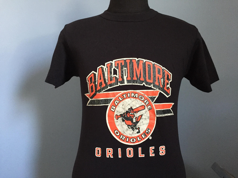 80s Tops, Shirts, T-shirts, Blouse   90s T-shirts 80S Vintage Baltimore Orioles 1988 Mlb Baseball T-Shirt - Medium $36.50 AT vintagedancer.com