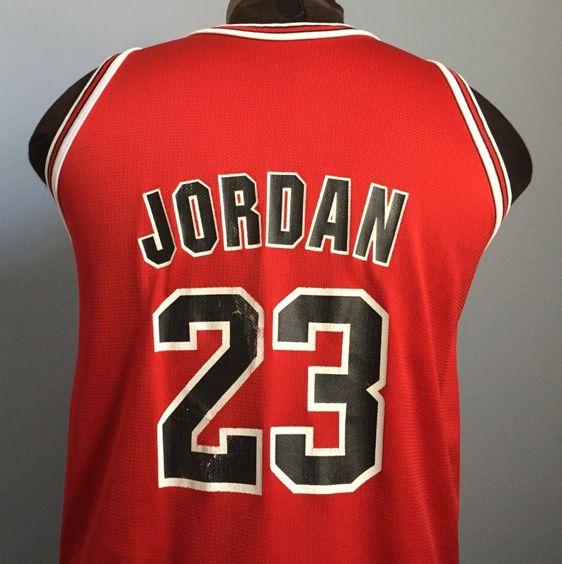 390aa8cfb 90s Vintage Michael Jordan 23 Chicago Bulls nba basketball