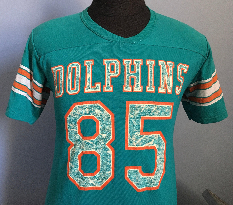 80s Tops, Shirts, T-shirts, Blouse   90s T-shirts 80S Vintage Mark Duper 85 Miami Dolphins Rawlings Jersey Nfl Football T-Shirt - Medium $41.50 AT vintagedancer.com