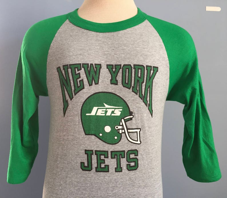 ec28eb2db8a 80s Vintage New York Jets NFL football deadstock dead stock | Etsy