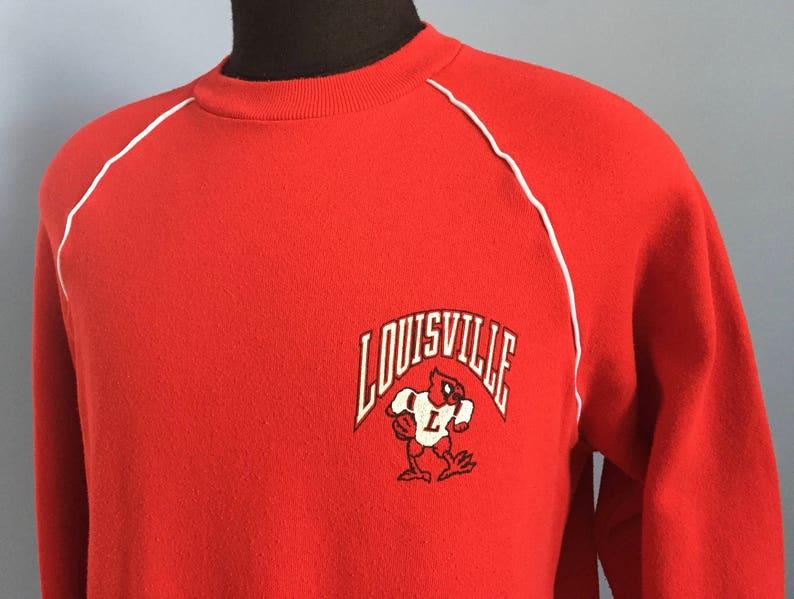 3b329bba9b4 80s Vintage Louisville Cardinals University ncaa college