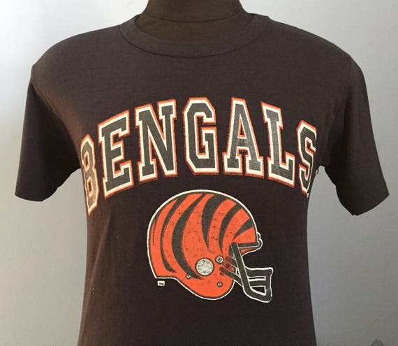 80s Vintage Cincinnati Bengals nfl football T-Shirt MEDIUM  41a3b43a6