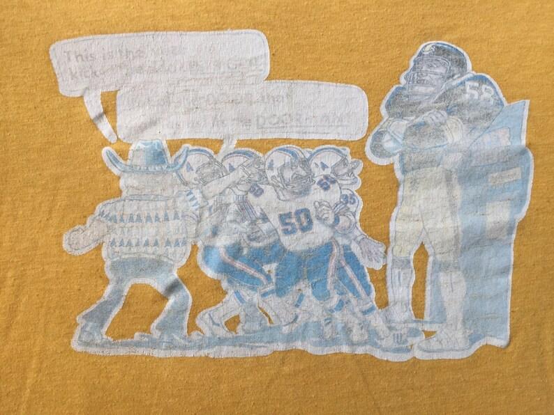 4c7ea5885cd 80s Vintage Pittsburgh Steelers Jack Lambert Houston Oilers