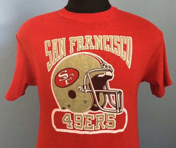 09bfc462 80s Vintage San Francisco 49ers nfl football T-Shirt - SMALL