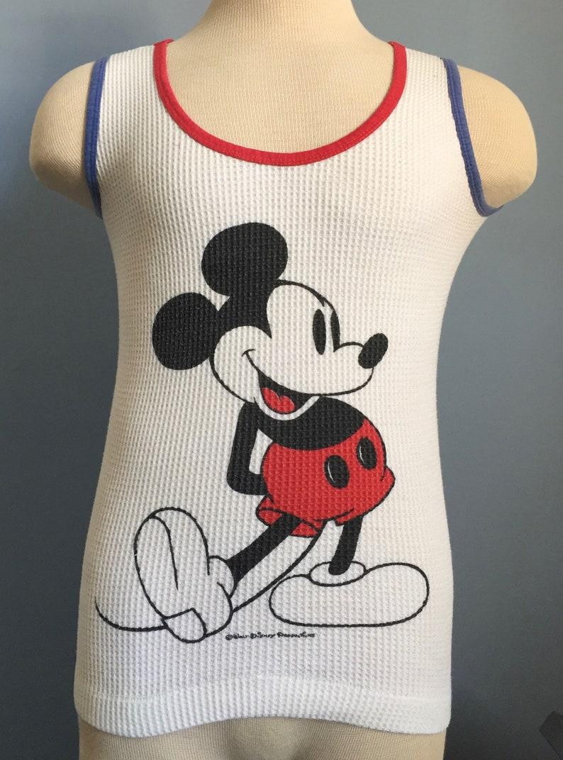 d2298ff8e5a 70s 80s Vintage Mickey Mouse Walt Disney Productions cartoon