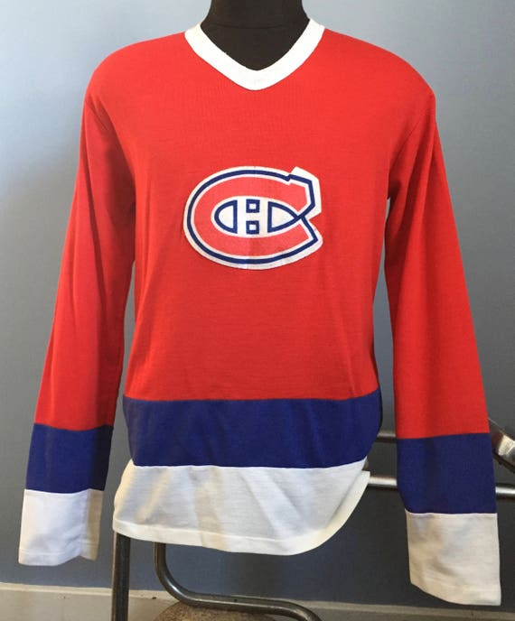 80s Vintage Montreal Canadiens nhl hockey Face Off