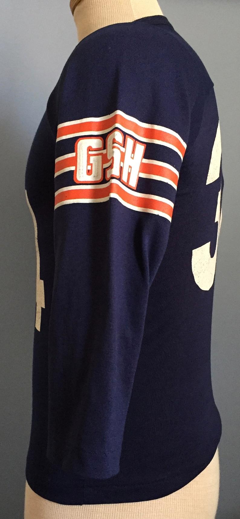 80s Vintage Walter Payton 34 Chicago Bears GSH nfl football  75c6dbc52
