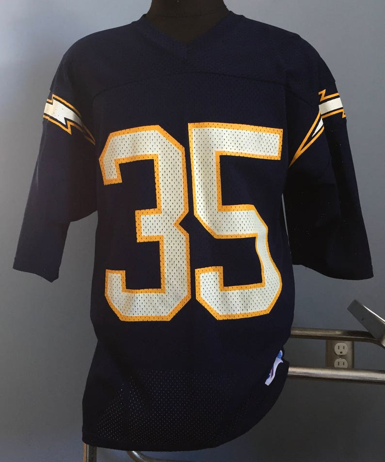 90s Vintage Marion Butts 35 San Diego Chargers Los Angeles LA  9dfaddaec