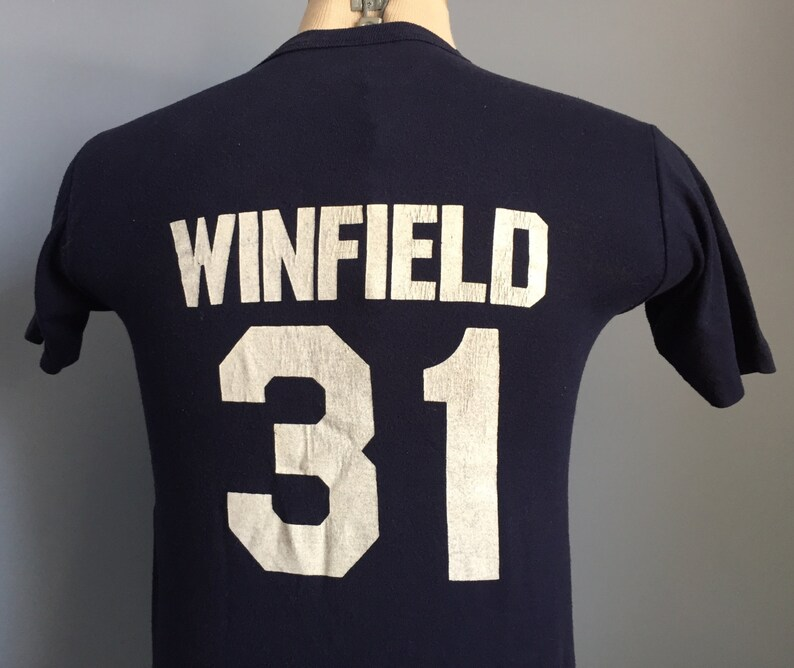 267ccb26 80s Vintage Dave Winfield 31 New York Yankees mlb baseball | Etsy