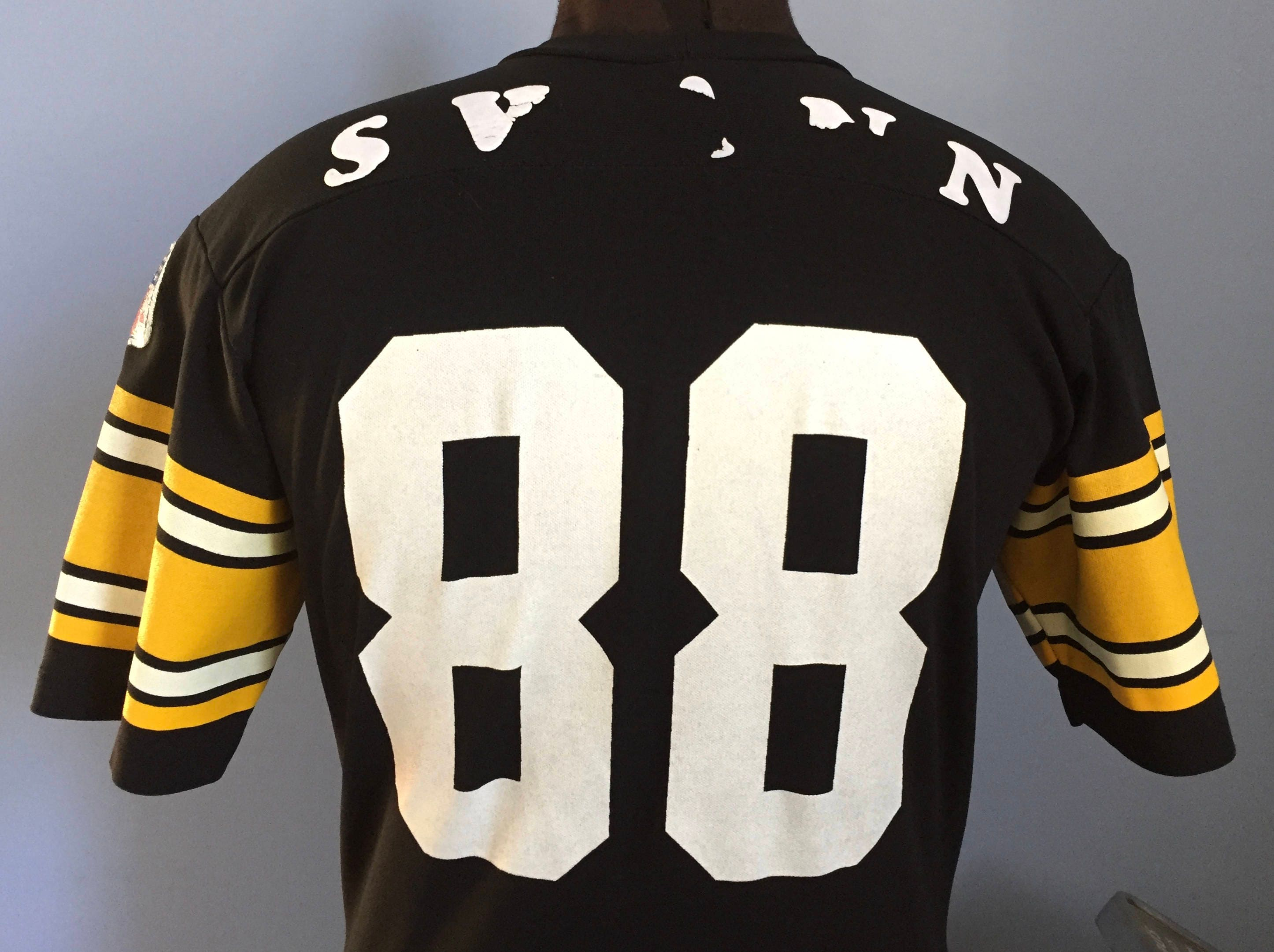 online store 66eb9 95308 70s 80s Vintage Lynn Swann #88 Pittsburgh Steelers Rawlings Jersey T-Shirt  - MEDIUM