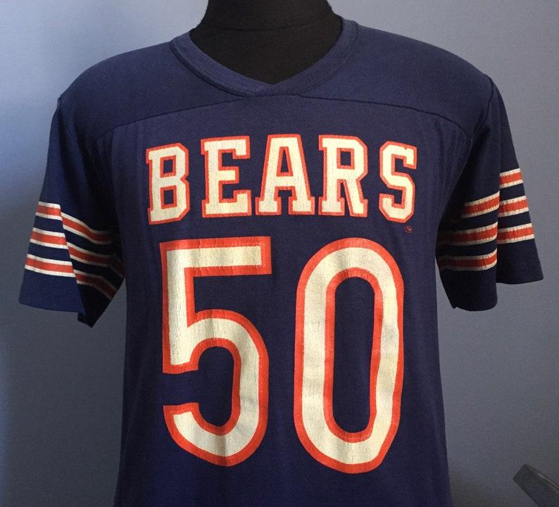 0610a212ea4 80s Vintage Mike Singletary 50 Chicago Bears GSH Rawlings | Etsy