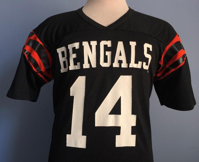 80s Vintage Ken Anderson 14 Cincinnati Bengals nfl football  0bc43284f