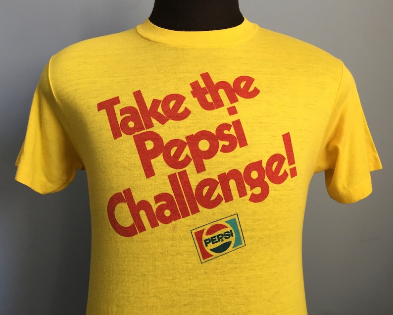 7e12cfe0e1d92 70s 80s Vintage Take the Pepsi Challenge Let Your Taste