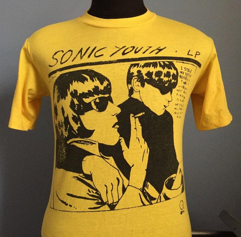 eecc5eb0 90s Vintage Sonic Youth Goo LP 1990 Geffen Records promo | Etsy