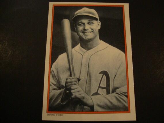 Sale Vintage Jimmie Foxx Baseball Card Philadelphia As Boston Red Sox Bosox Mlb Hall Of Fame Hof 65 Cent Shipping 135 Intl