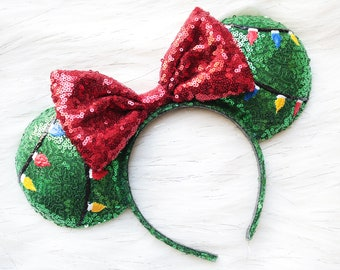 Holiday inspired baby Mouse ears