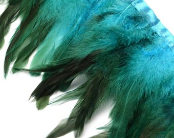 20 Pompons Breloques Franges Polyester 25mm SC64862 Vert turquoise
