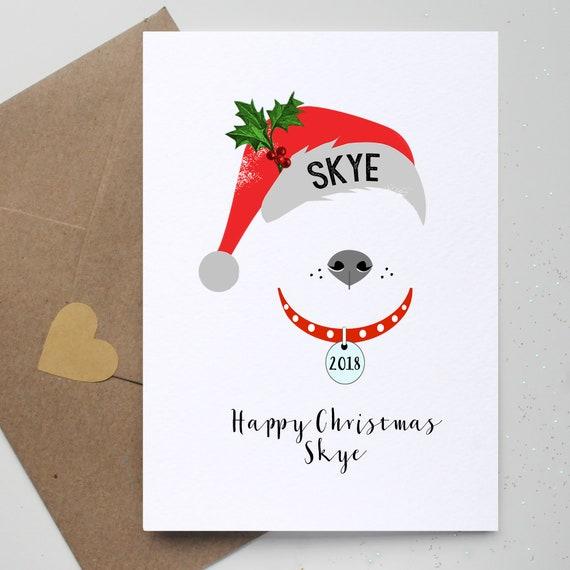 Dj Christmas Customised Card