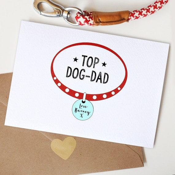 Personalised Dog Dad Card