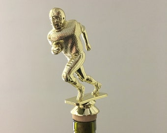 Football Lover Gift Best Man Gift Party Favors Wedding Favors 1- American Football Wine Stoppers Guy Gift Wine Stopper Football Gift