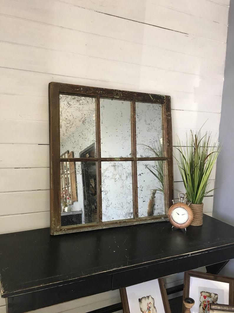 Window Pane Mirror From A Memphis TN Home