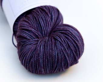 "Hand Dyed Yarn // Curious Sock (100% sw merino, fingering weight) // ""Magic"""