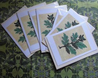 Set of Seven Vervayne A5 Greetings Cards