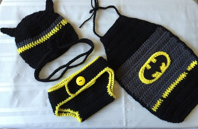 Batman Inspired Baby Outfit
