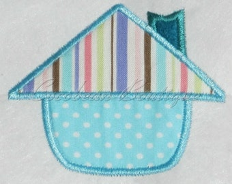 embroidery applique House 4