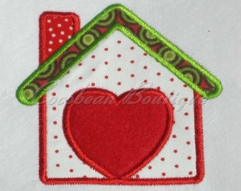 embroidery applique House 3
