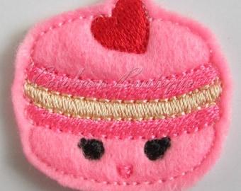 Kawaii Macaroon5 feltie-mini embroidery felties-digital download