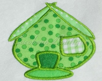 embroidery applique House 5