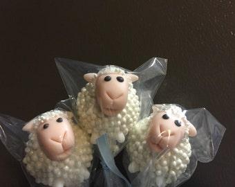 Lamb cake pops